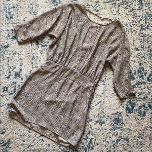 Silence and noise silky dress